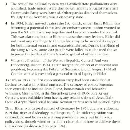rise of the nazis essay